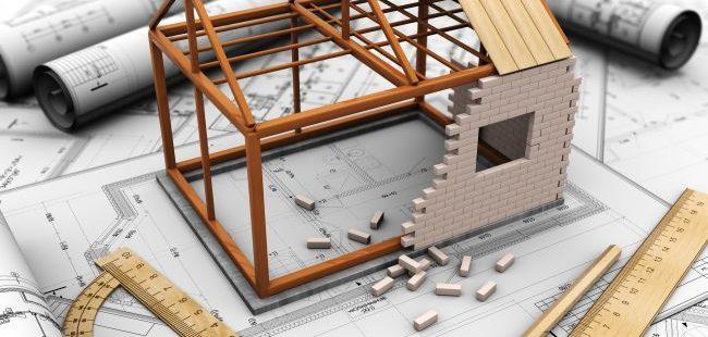 aanbouw bij de woning